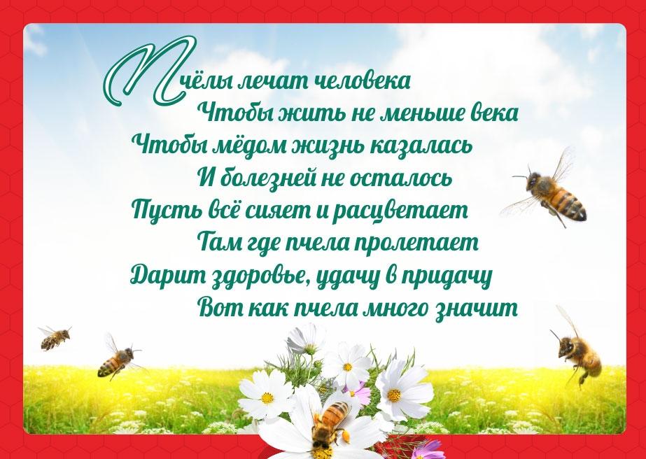 """Стихи """"Пчелы лечат человека"""""""